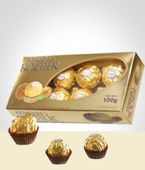 Flowers to  Bombons: Ferrero Rocher