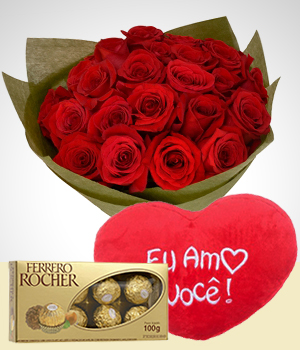 Flowers to  Combo Carta de Amor