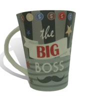 Presentes para Homens - Xícara - The Big Boss